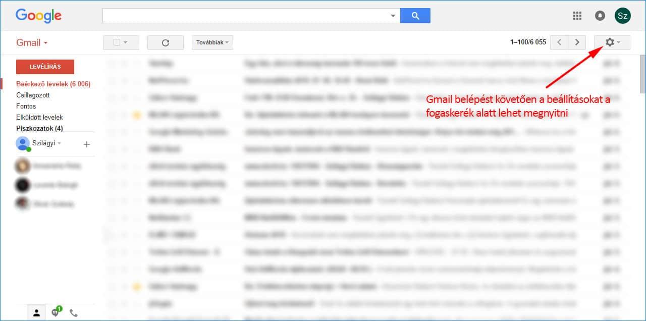 Belépés gmail Bejelentkezés a
